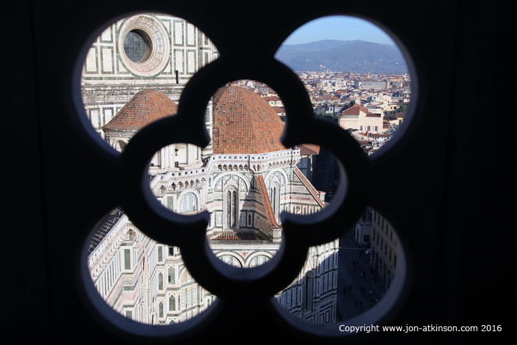Artistic City View Giotto's Campanile