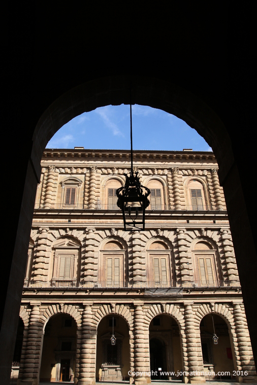 Pitti Palace Courtyard