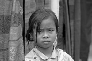 Cambodia Black and White
