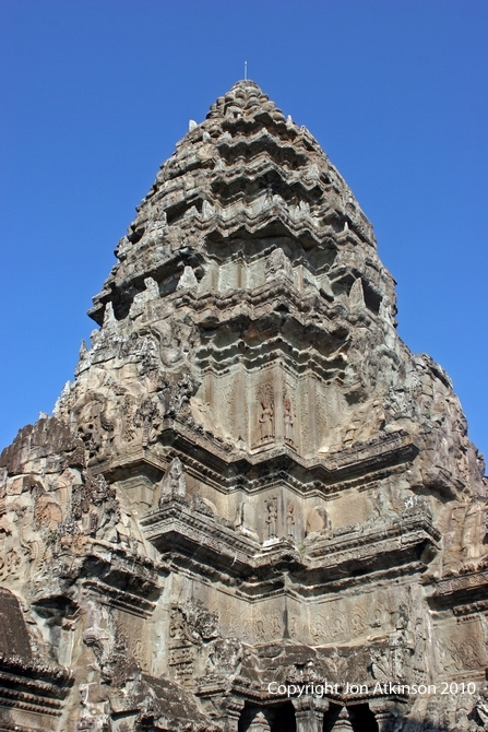 Corner Tower, Angkor Wat