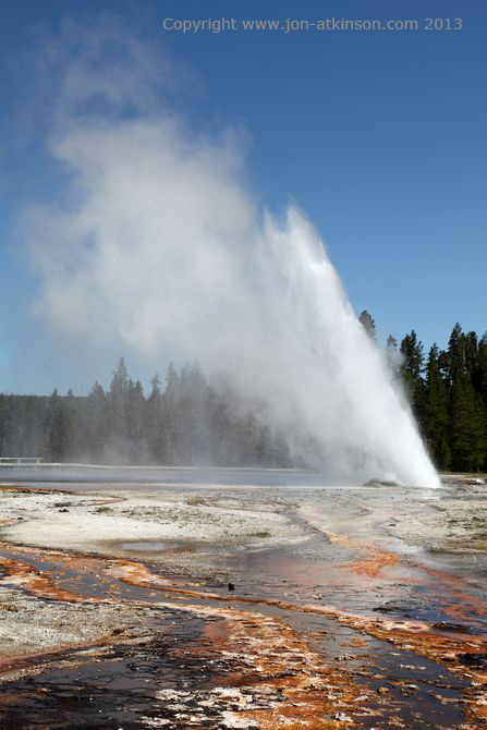 Daisy Geyser, Yellowstone National Park