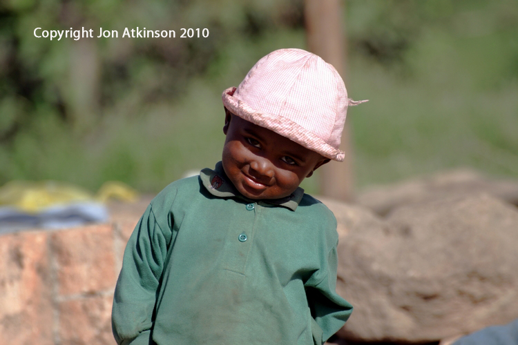 Countryside boy from Southern Madagascar
