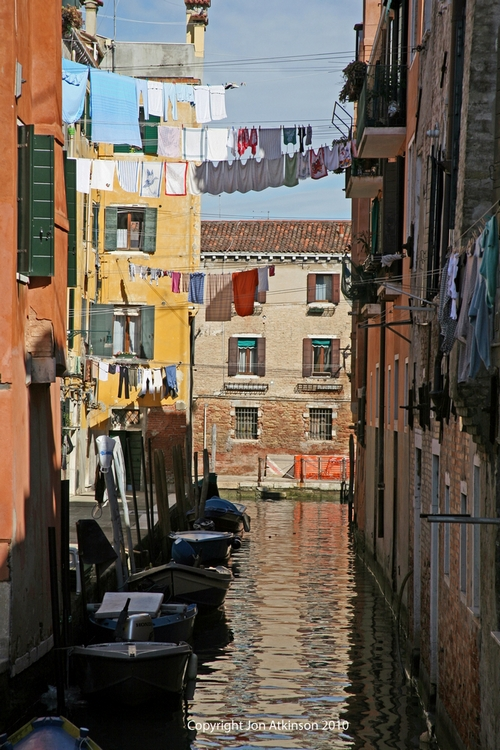 Laundry Drying, Venice
