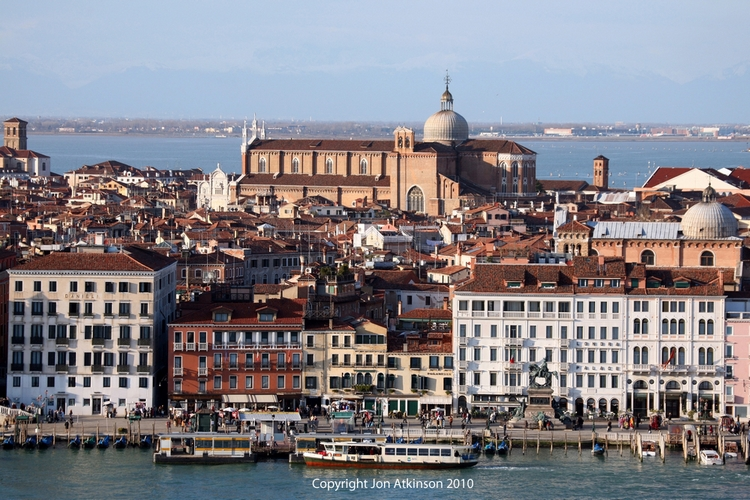 View of the Castello Sestiere, Venice, Italy