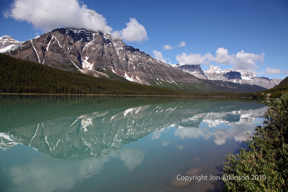 Glacial Lake in Banff National Park.