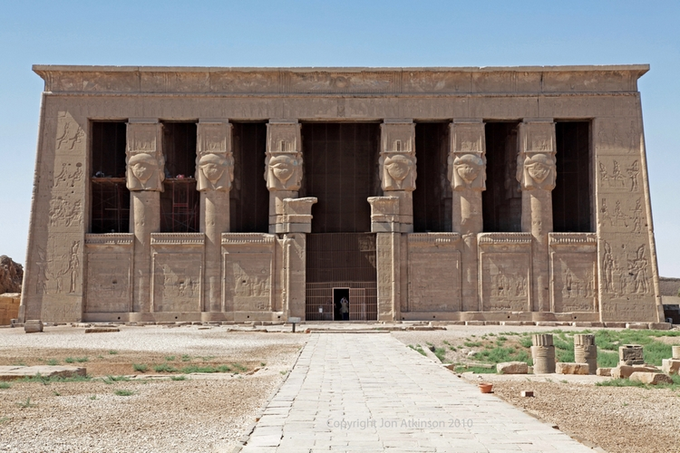 The Temple of Hathor, Dendera
