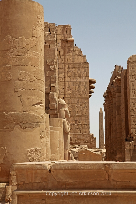 General view of the precinct of Amun-Re, Karnak Temple Complex