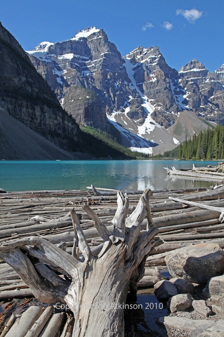 Lake Moraine, Banff National Park.