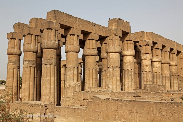 Temple of Amenhotep III's, Luxor Temple