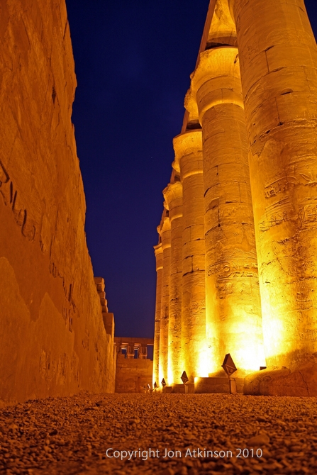 Processional Colonnade, Luxor Temple