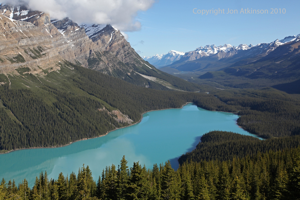 Peyto Lake, Banff National Park.
